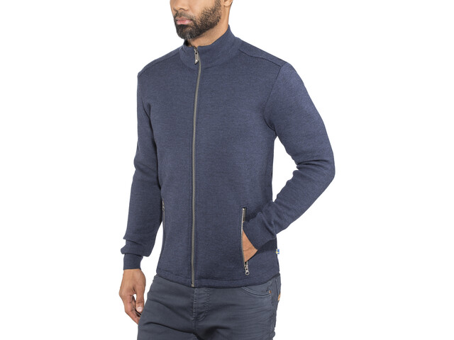 Ivanhoe of Sweden Assar Full-Zip Jacke Herren steelblue